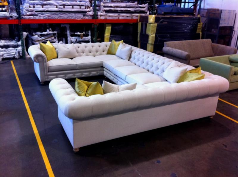 CUSTOM UPHOLSTERY : custom sectional - Sectionals, Sofas & Couches